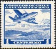Chile 1960 Airmail - Aircrafts 1c.jpg